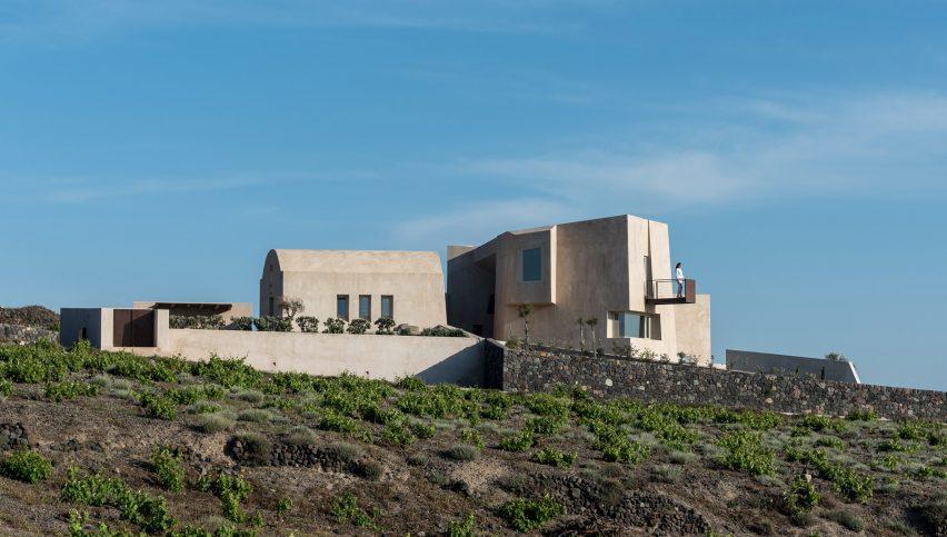 Дом в Пиргосе — летний дом на Санторини от Kapsimalis Architects