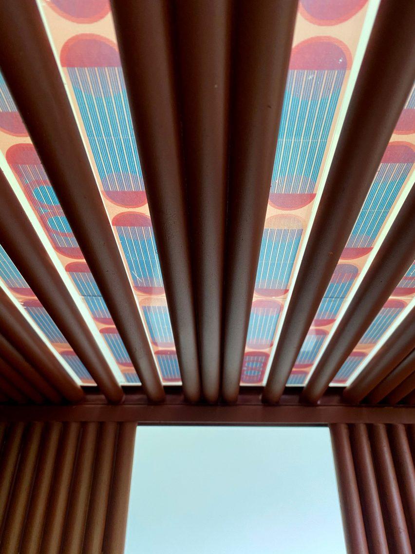 Разноцветные полупрозрачные солнечные панели Марьян ван Обель возглавят голландский биотоп