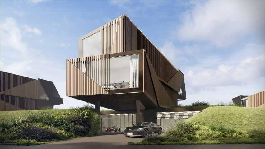 Twelve Architects проектируют жилой комплекс Escapade Silverstone