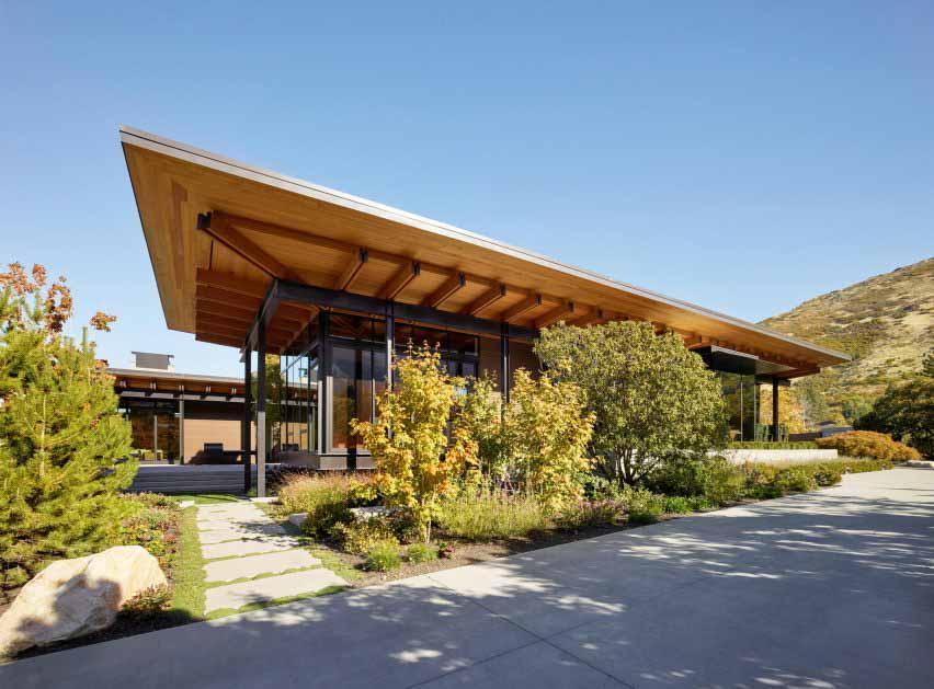 Три павильона Olson Kundig в Юте