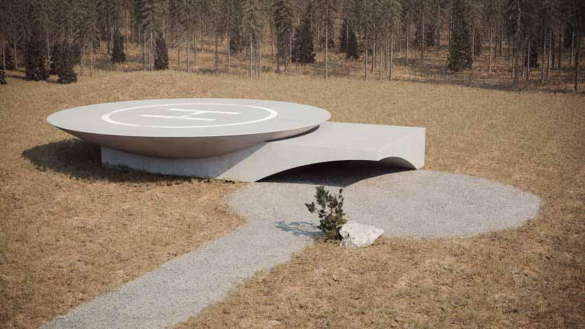 Подземный дом План Б — укрытие для следующего глобального кризиса