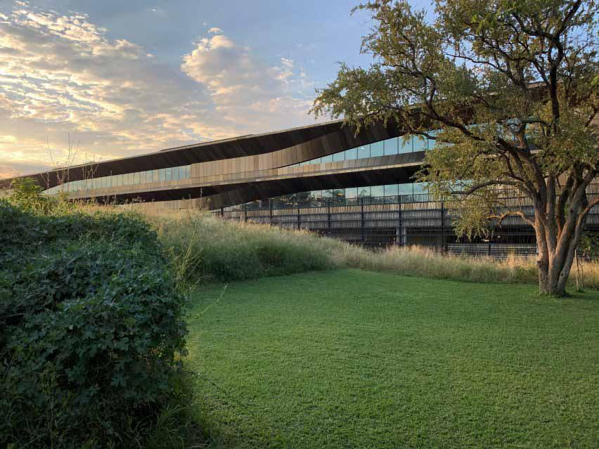 SHoP Architects — инновационный центр в Габороне, Ботсвана