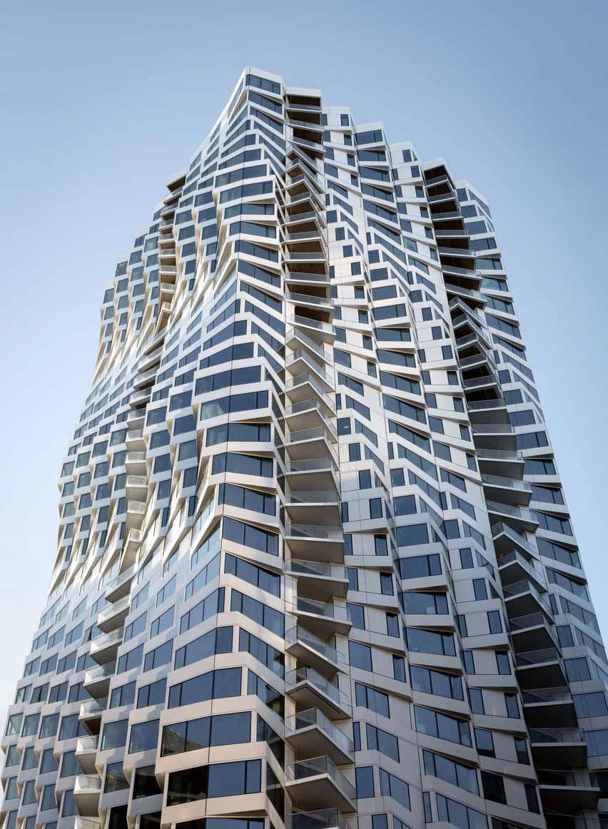 Студия Gang завершает скручивание башни Mira в Сан-Франциско