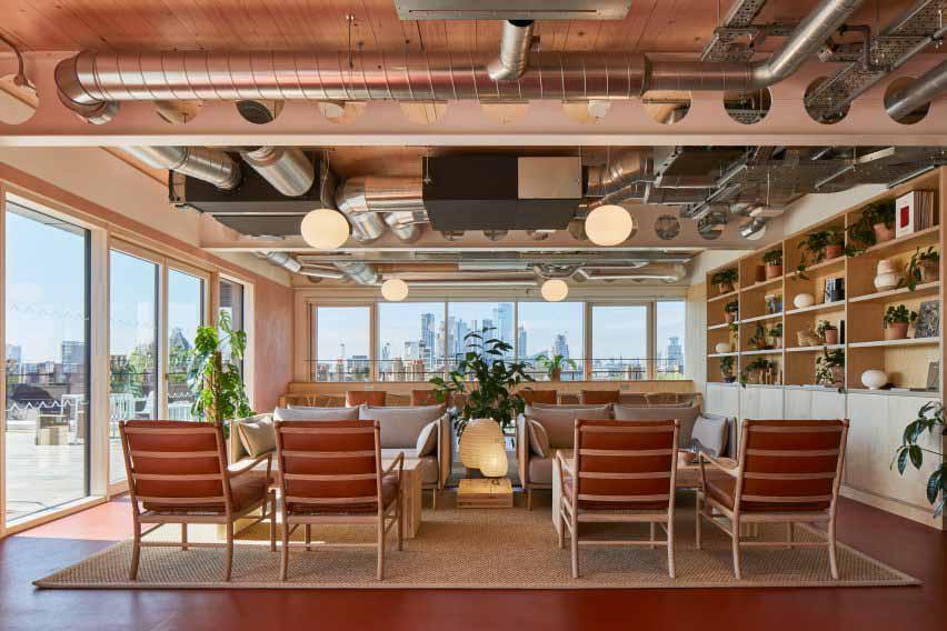 Waugh Thistleton Architects создает полностью разборный офисный блок