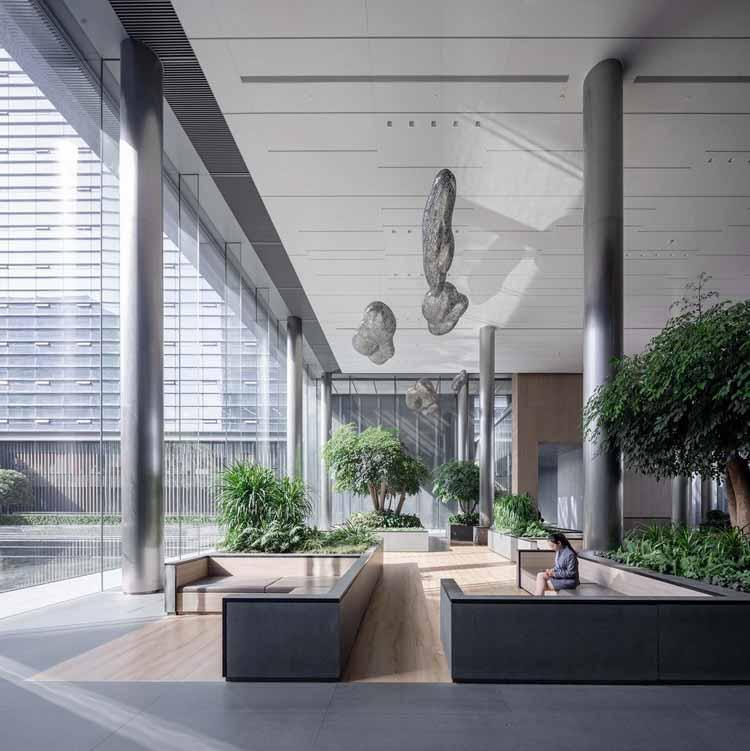 Внутри вестибюля. Изображение © Schran Image