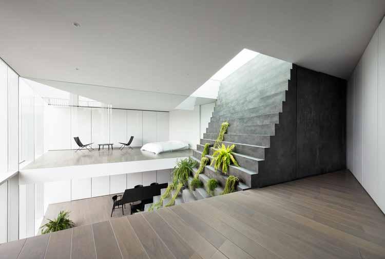 Лестничный дом / nendo © Такуми Ота