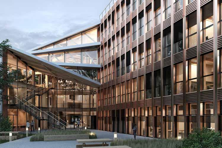 Дом ONF. Изображение предоставлено Vincent Lavergne Architecture Urbanisme