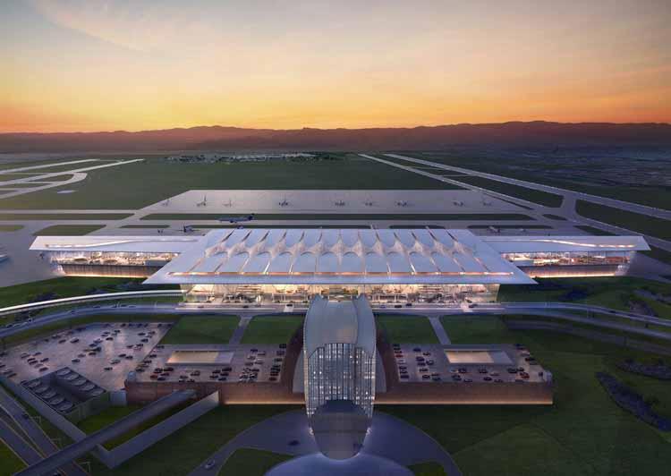 Аэропорт Гвадалахары. Изображение предоставлено CallisonRTKL