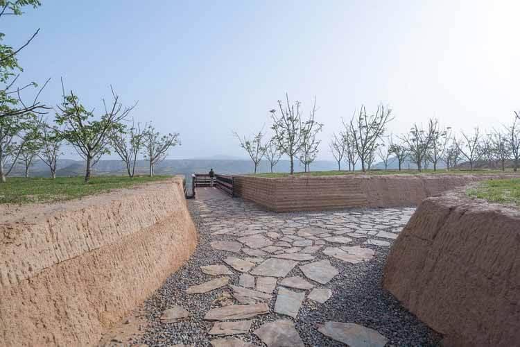 лабиринт пути. Изображение © Тяньбэй Цзэн