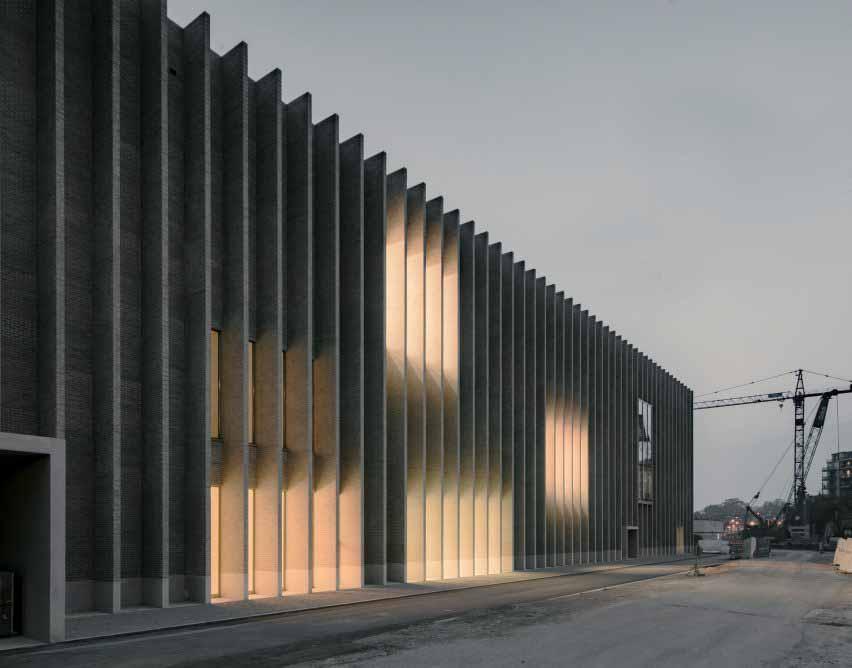 Бароцци Вейга проектирует Musée cantonal des Beaux-Arts Lausanne