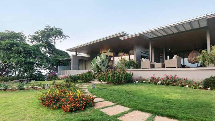 Дом на холме / Arun Nalapat Architects, © Vyas Kalathil
