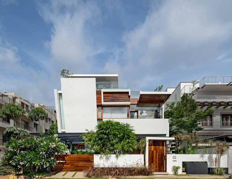 Дом с плавающими стенами / Crest Architects, © Shamanth Patil J