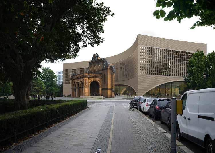 Представлен новый проект Берлинского музея-заповедника, удостоенный награды, любезно предоставлено MIR