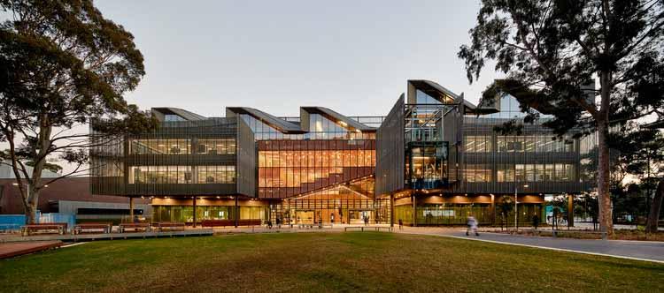 Учебно-педагогический корпус, Университет Монаша / John Wardle Architects, © Peter Bennetts
