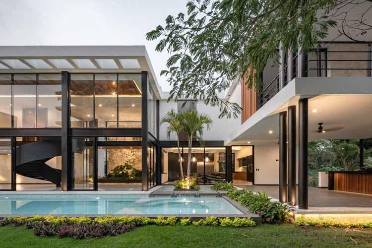 Water House / Di Frenna Arquitectos, © Oscar Hernandez
