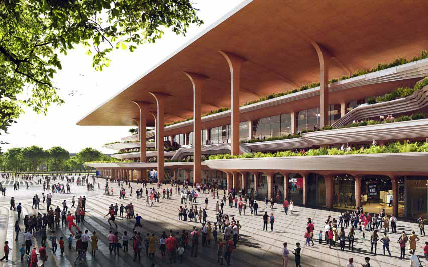 Zaha Hadid Architects открывает Сианьский международный футбольный центр