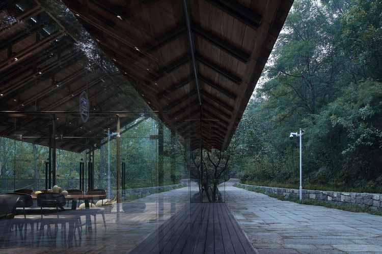 Прогулочная дорожка. Изображение © Сяовэнь Цзинь