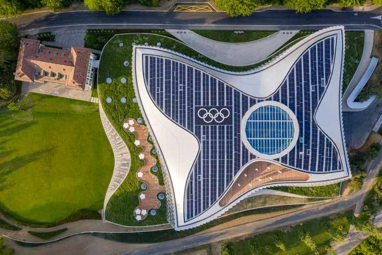 Олимпийский дом / 3XN. Изображение © Международный олимпийский комитет (МОК) / MØRK, Адам