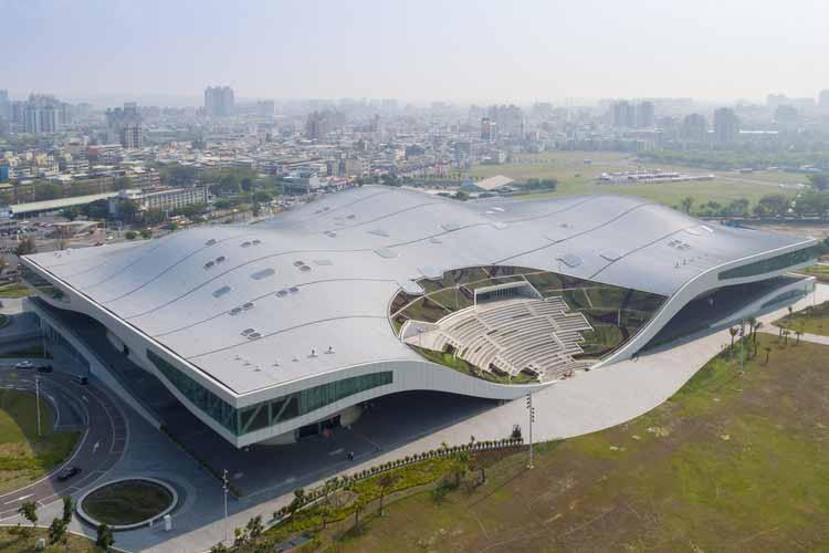 Национальный центр искусств Гаосюн / Mecanoo. Изображение © Иван Баан