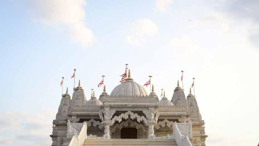 Кадр из короткометражного фильма Open House London о Neasden Temple