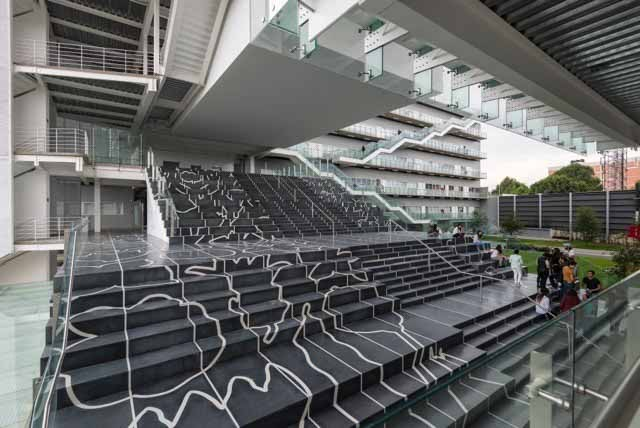 CENTRO / TEN Arquitectos. Изображение © Луис Гордоа