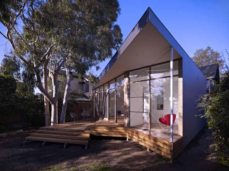 Дом на дереве Кью / архитектор Эндрю Чайлд, © Рианнон Слэттер