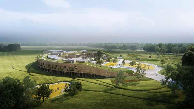 Хеннинг Ларсен создает первую в Дании начальную школу с экологической маркировкой Северных стран, любезно предоставлено Хеннингом Ларсеном