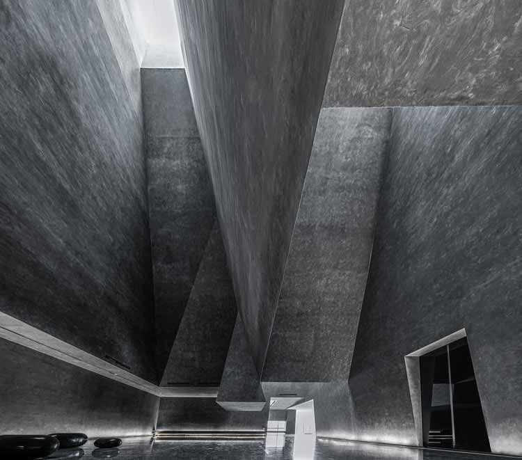 Музей естественной истории камня Инлян / Atelier Alter Architects, предоставлено Atelier Alter Architects
