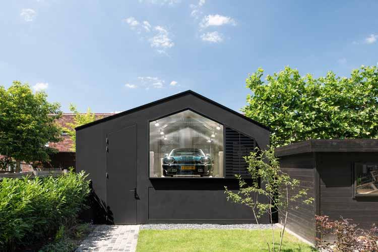 Таунхаус Black Gems в Амстердаме / Bureau Fraai, © Studio de Nooyer