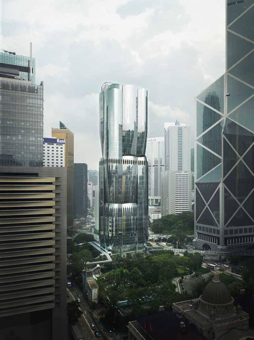 Zaha Hadid Architects показала небоскреб на самом дорогом месте в мире