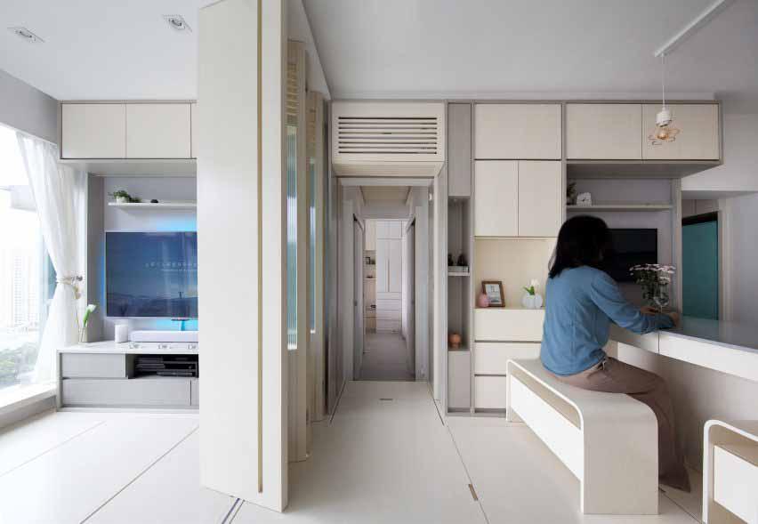 Жилая площадь Smart Zendo от Sim-Plex Design Studio в Гонконге