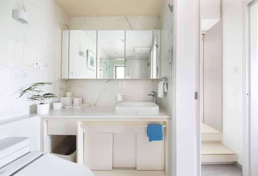 Ванная комната Smart Zendo от Sim-Plex Design Studio в Гонконге