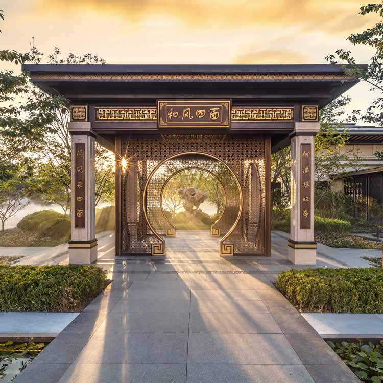 Жилой пейзаж дворца Симао Лунг / Группа Симао. Изображение предоставлено A 'Design Awards