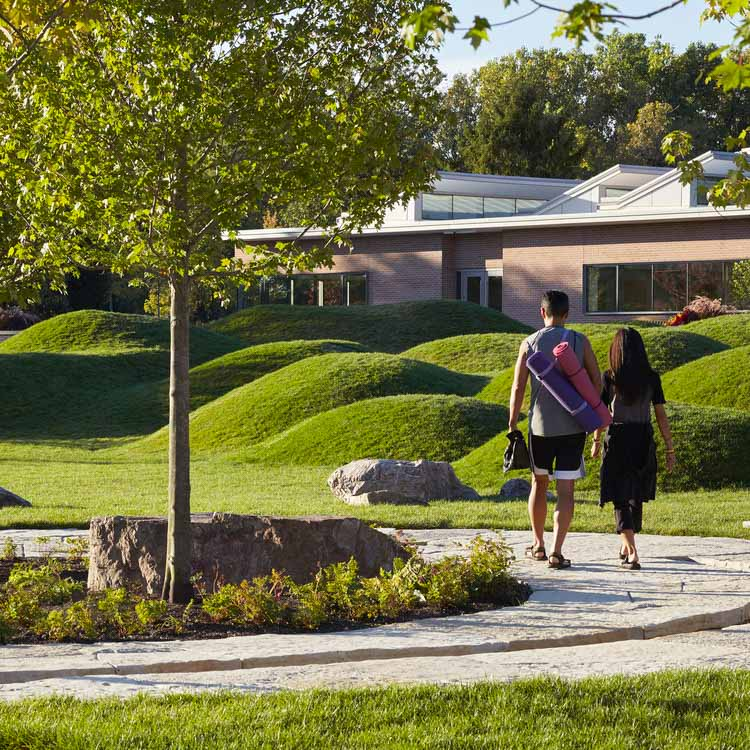 Ботанический сад учебного городка Регенштейна / Микён Ким. Изображение предоставлено A 'Design Awards