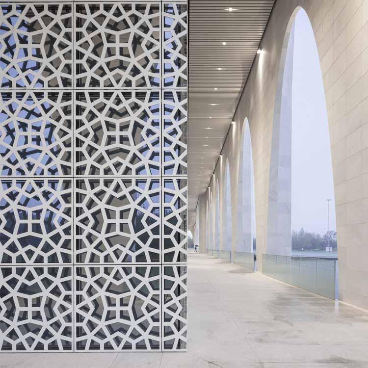 Мусульманский культурный центр Да Чанг / Студия Hejingtang. Изображение предоставлено A 'Design Awards