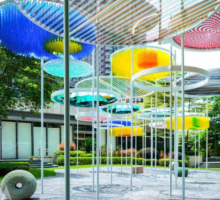 Павильон искусств PLAYOHO / Риччи Вонг Чеук-Кин. Изображение предоставлено A 'Design Awards