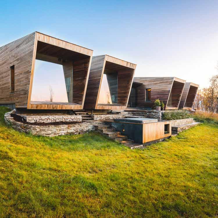 Семейный ретрит Маланген / Снорре Стинессен. Изображение предоставлено A 'Design Awards