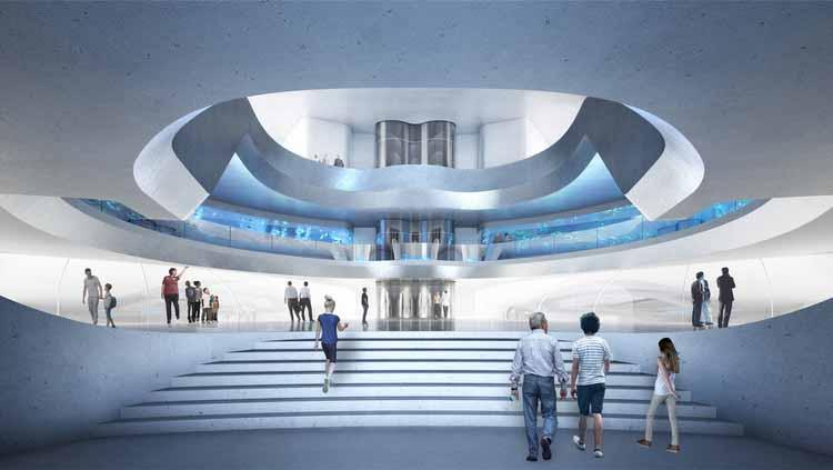 Предоставлено Contreras Earl Architecture / архитектурная иллюстрация SAN