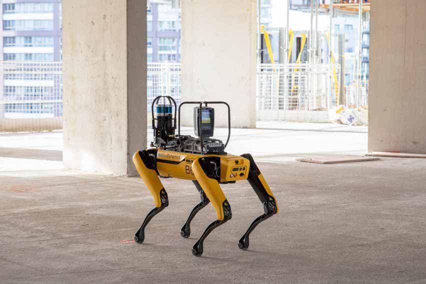 Boston Dynamics и Foster + Partners сотрудничали, чтобы использовать робота Spot