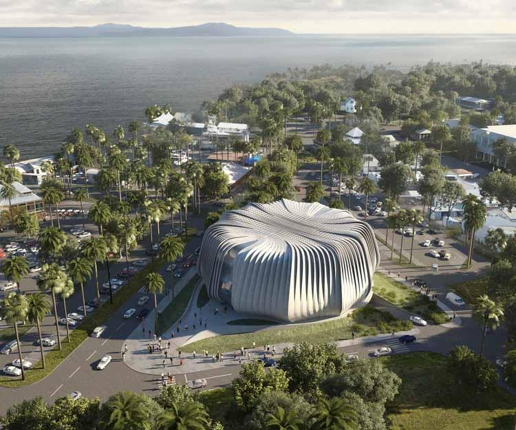 Австралия строит первый в мире объект по охране кораллов, любезно предоставлено Contreras Earl Architecture / архитектурная иллюстрация SAN