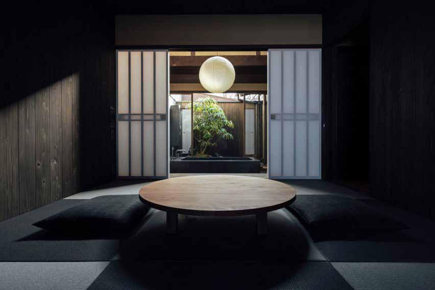 Гостевой дом Маана Камо, построенный в старинном японском доме