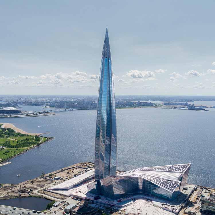 Самая высокая башня Европы стала небоскребом года Emporis, © GORPROJECT