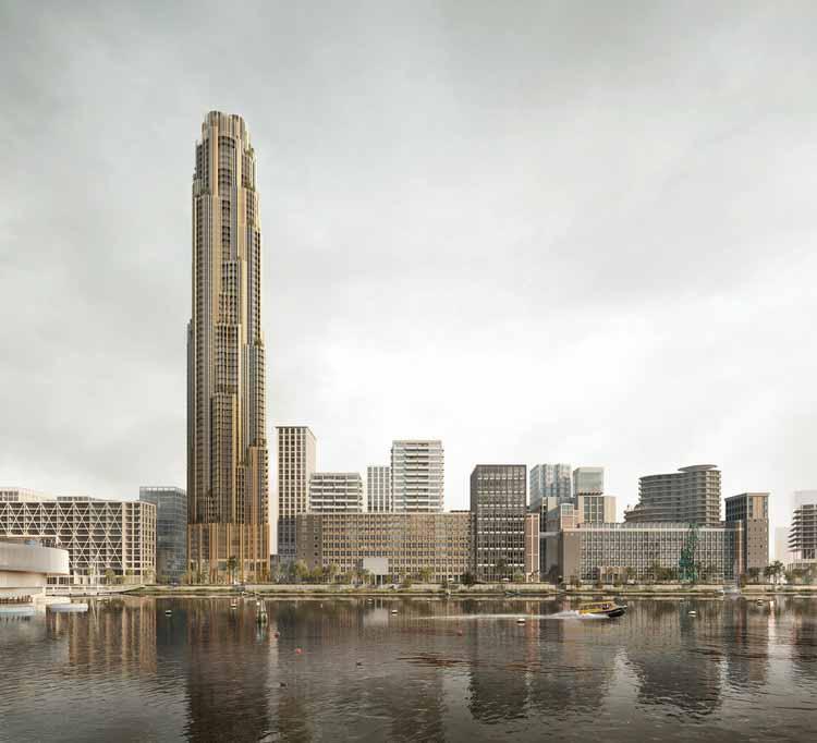Powerhouse, Mecanoo и SHoP присоединяются к команде дизайнеров, переосмысливая Рейнхавен в Роттердаме, любезно предоставлено Филиппо Болоньезе