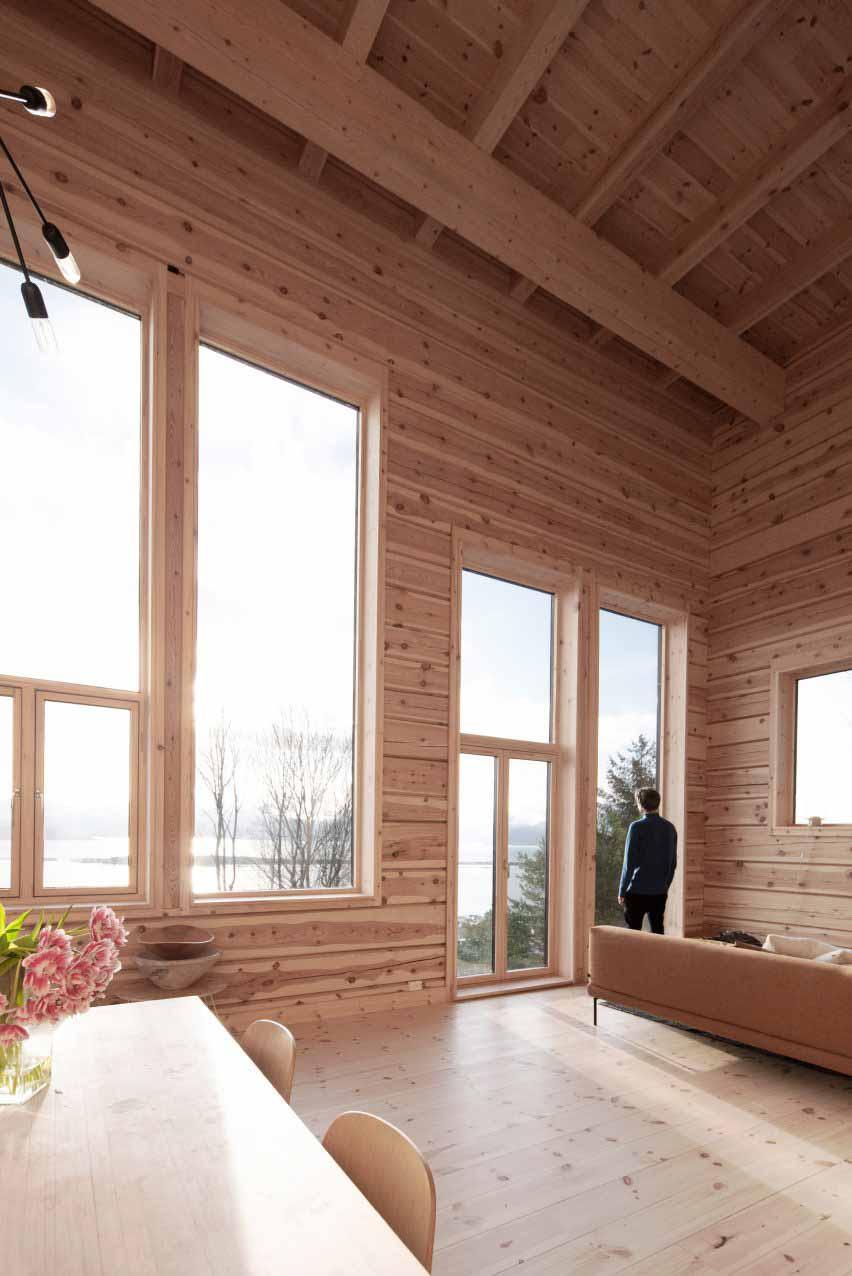 Zieglers Nest от Rever & Drage Architects в Фарстадсанден, Норвегия