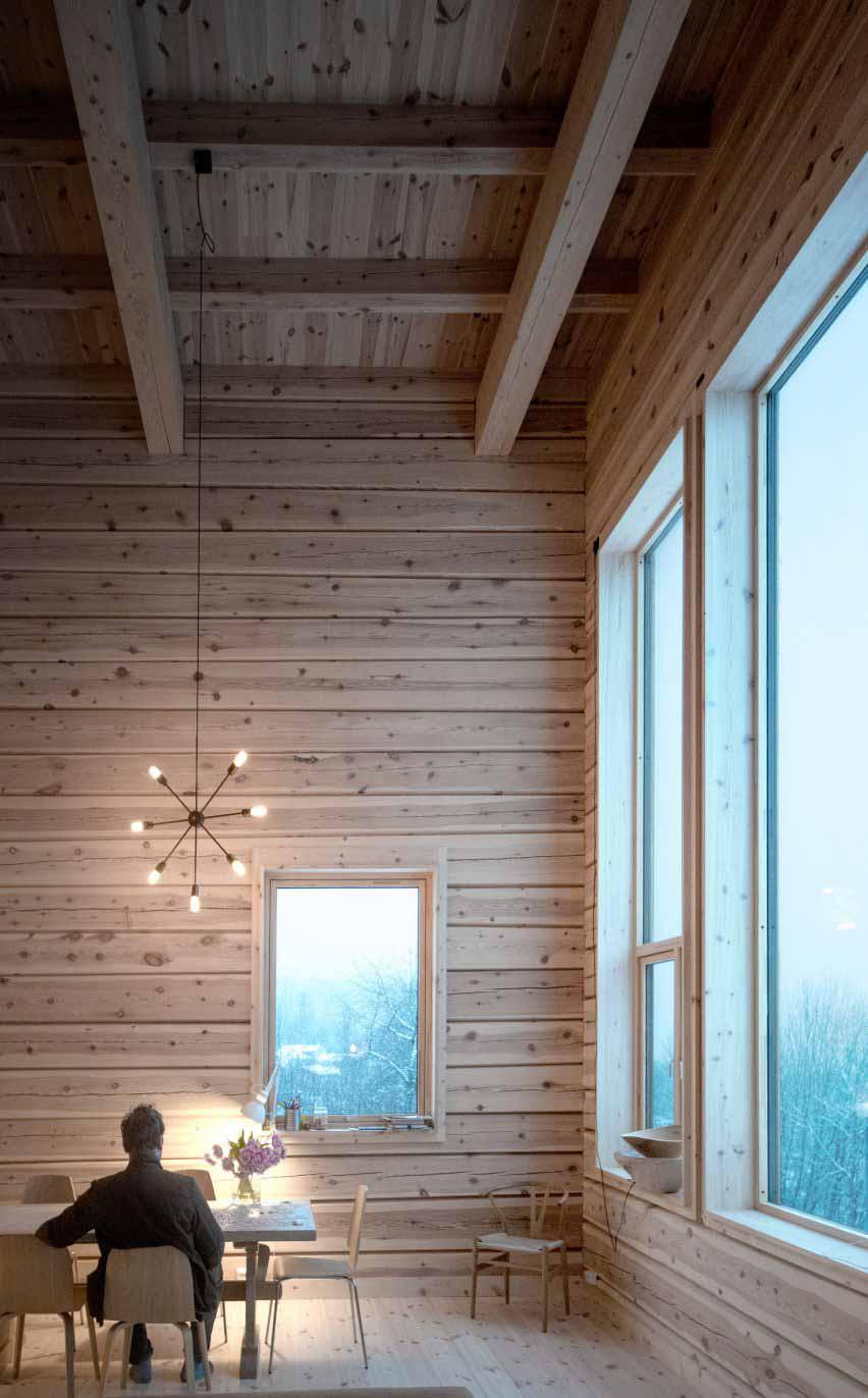 Гостиная в норвежском доме
