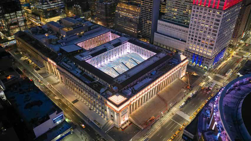 Даниэль Патрик Мойнихан Train Hall в Нью-Йорке