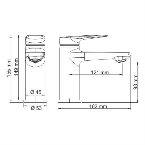 Смеситель WasserKRAFT Glan 6603