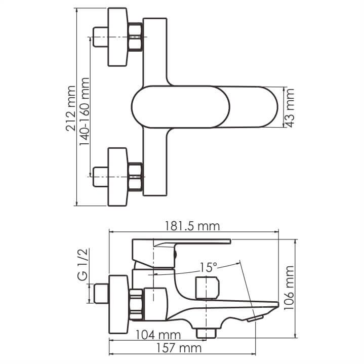 Смеситель WasserKRAFT Mindel 8501