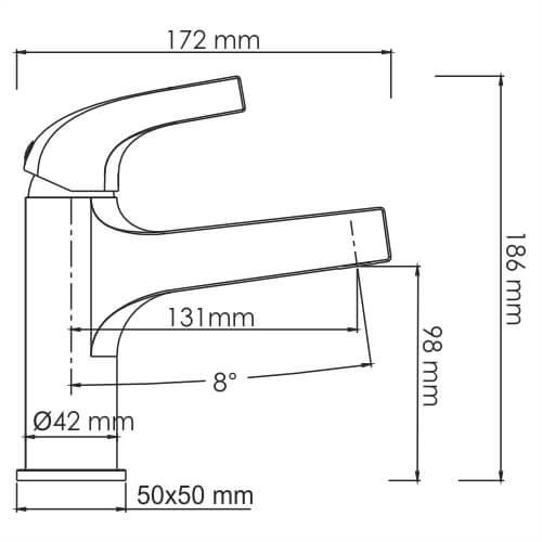Смеситель WasserKRAFT Sauer 7103