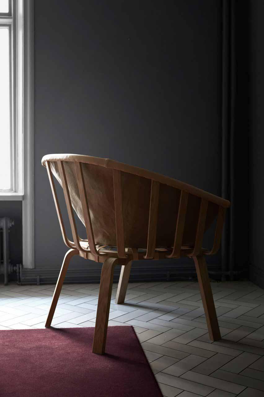 Спинка кресла Пино